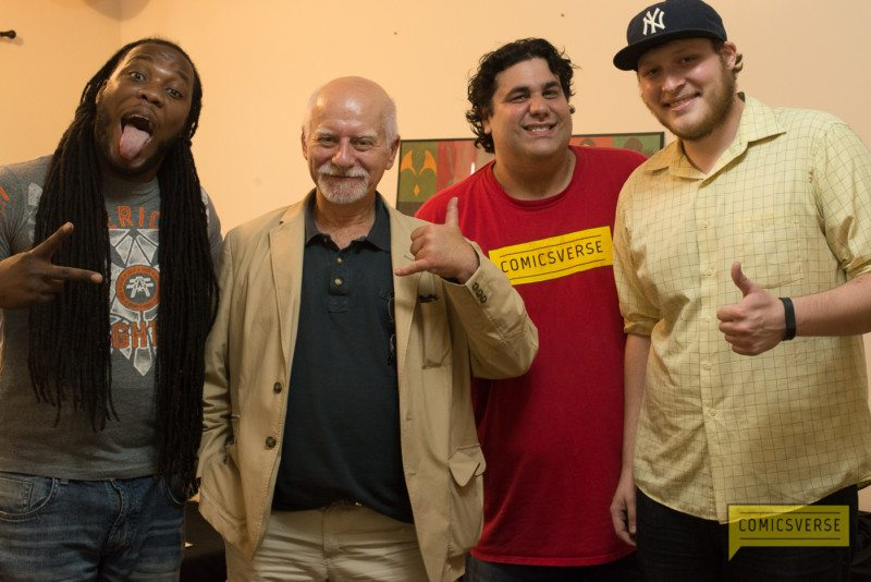 comicsverse in the press with chris claremont