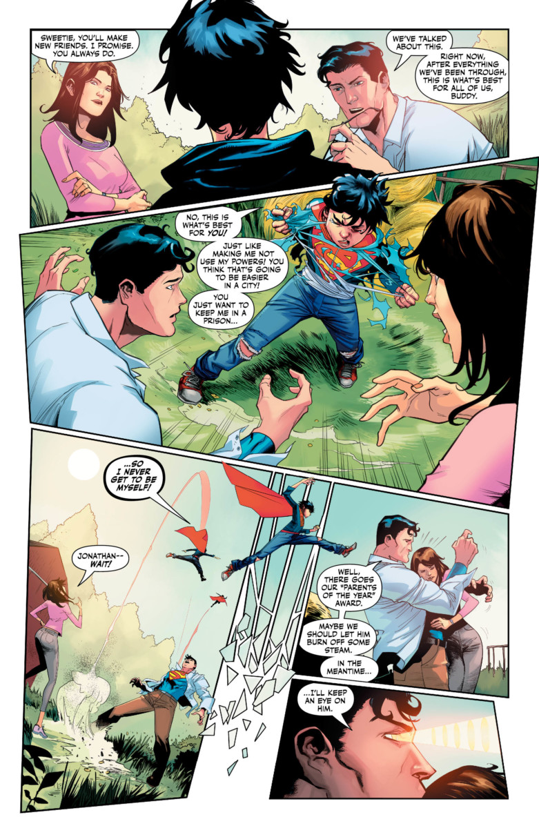 SUPER SONS #5 Exclusive Preview: Grounded! - ComicsVerse