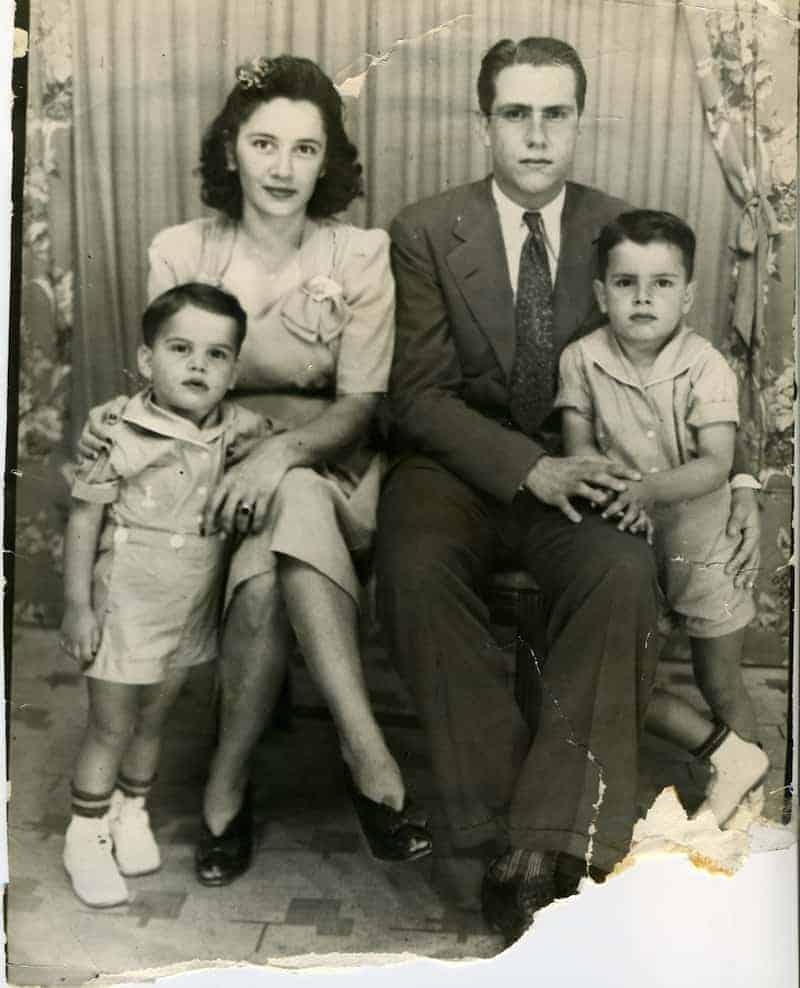 Puerto Rican Alba Family in Puerto Rico.