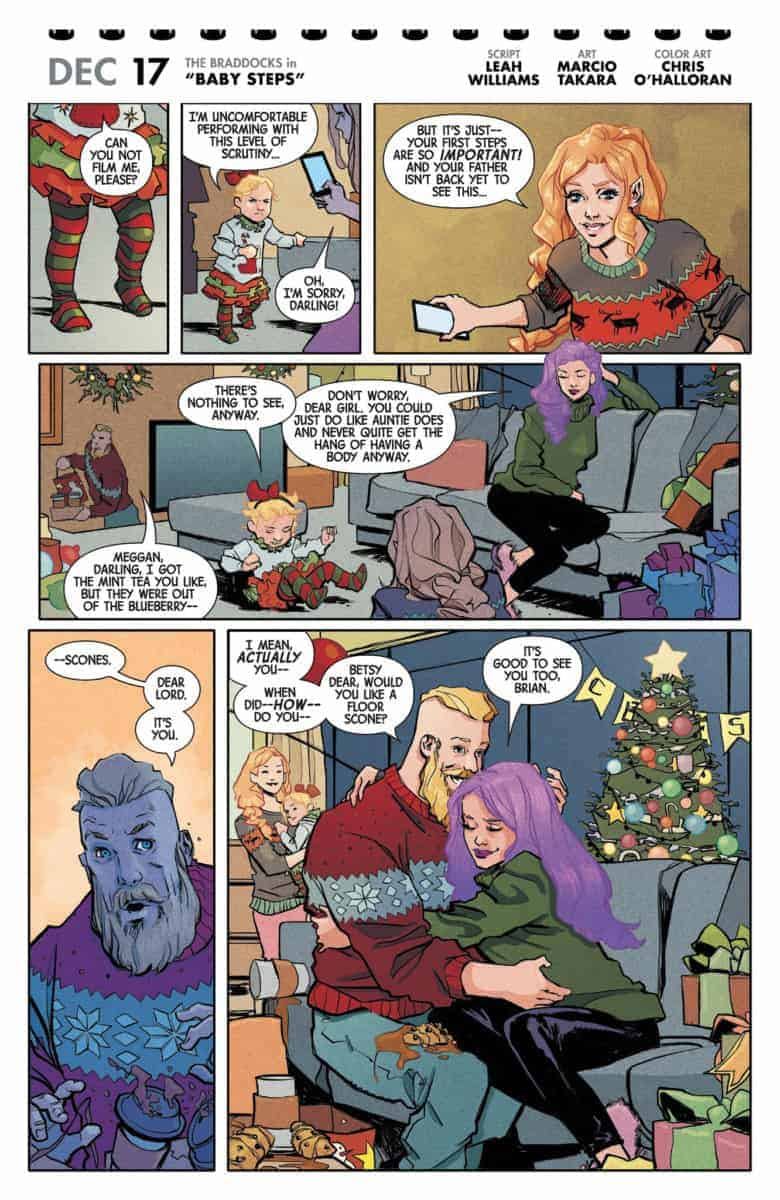 MERRY X-MEN HOLIDAY SPECIAL