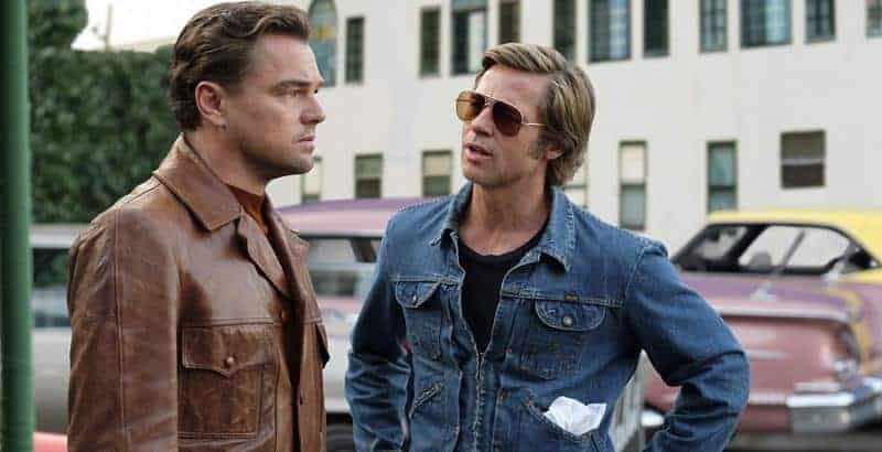 Once Upon A Time- DiCaprio and Pitt