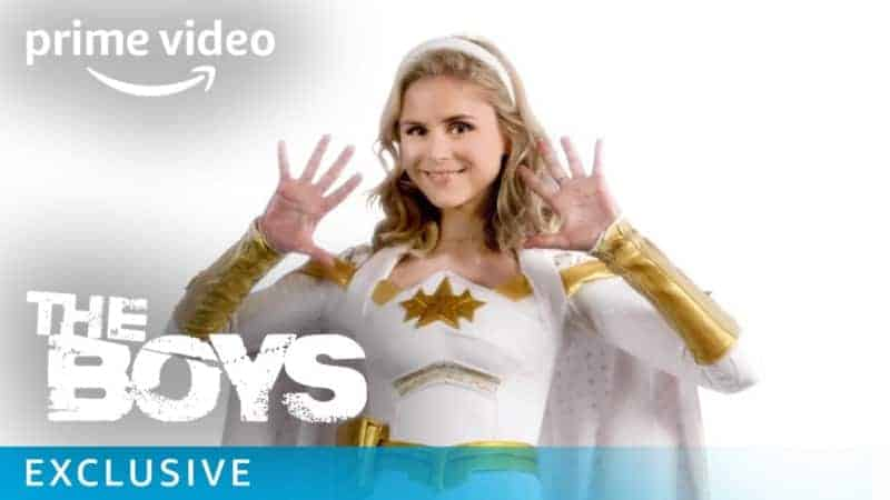 Erin Moriarty stars as Annie January aka Starlight in Amazon's The Boys.