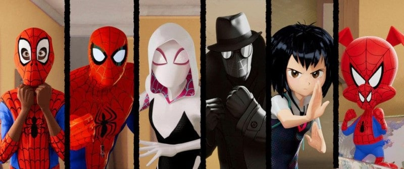 INTO THE SPIDER VERSE by SONY