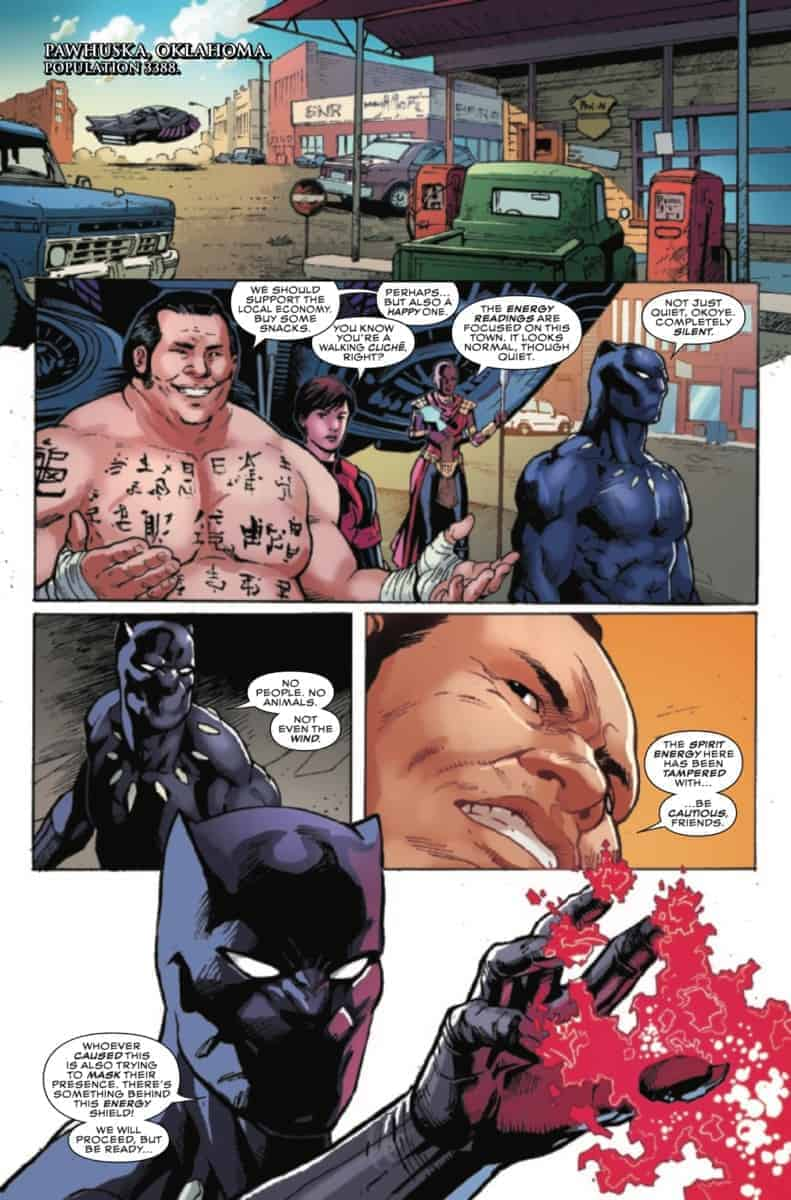 BLACK PANTHER AND THE AGENTS OF WAKANDA #1 page 3
