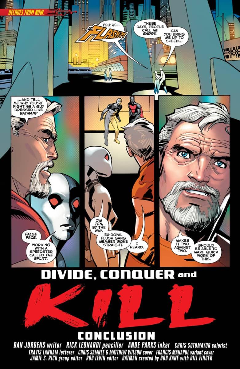 Batman Beyond #36 page 1