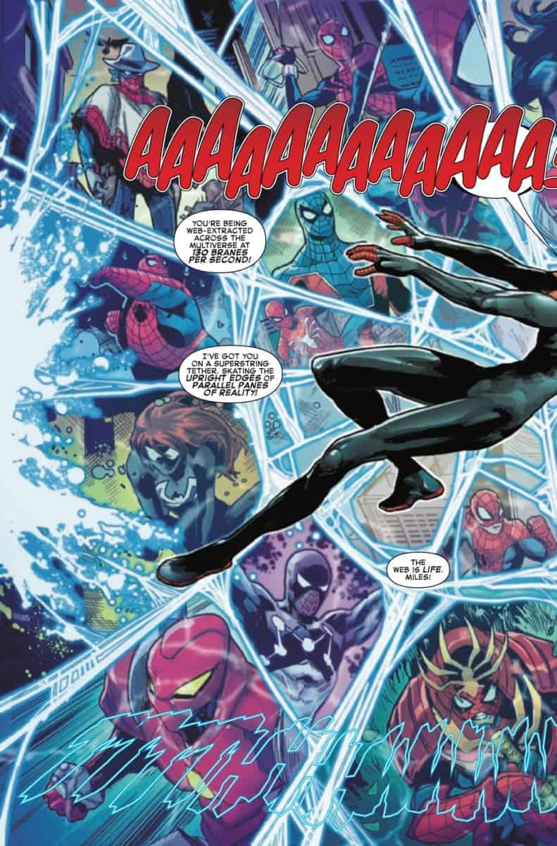 spider-Verse #1 2019 preview page 4